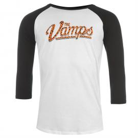 Tričko Official The Vamps Raglan T Shirt Mens Leopard