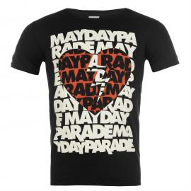 Tričko Official Mayday Parade T Shirt Heart