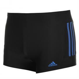 Plavky adidas EC3 Swimming Boxers Junior Black/Blue
