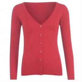 Svetr Miss Fiori Essential Cardigan Ladies Pink