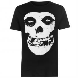 Tričko Official Misfits T Shirt Skull