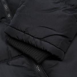 Bunda Lee Cooper 2 Zip Bubble Jacket Mens Charcoal