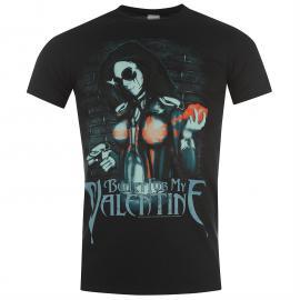 Tričko Official Bullet for My Valentine T Shirt Serpent Rose