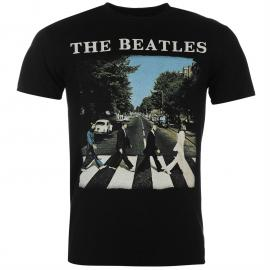 Tričko Official The Beatles T Shirt Abbey Road Logo