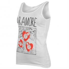 Official Paramore T Shirt Ladies X Ray