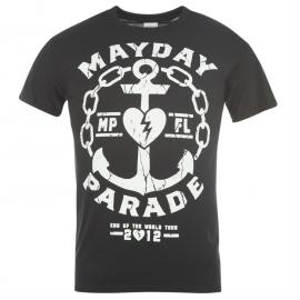 Tričko Official Mayday Parade T Shirt Black