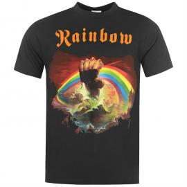 Tričko Official Rainbow T Shirt Mens Rising