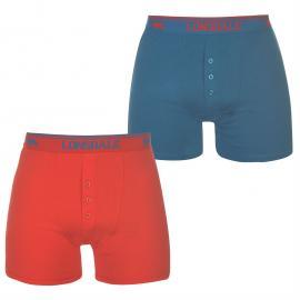 Spodní prádlo Lonsdale 2 Pack Boxers Mens Bright Blue