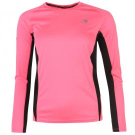 Karrimor Long Sleeve Running T Shirt Ladies Black