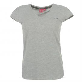 LA Gear V Neck Top Ladies Grey Marl