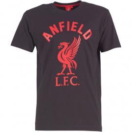 Tričko Liverpool Mens Anfield T-Shirt Black