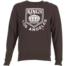 Mikina Majestic Athletic Mens Kings Fayled Crew Neck Sweat Black