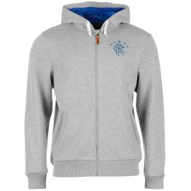 Mikina Team Rangers Zip Hoody Mens Grey Marl