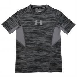 Under Armour Coolswitch Boys Tee Shirt Black