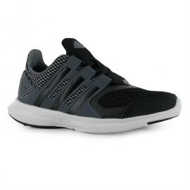 Boty adidas HyperFast 2 Junior Trainers Grey/Black