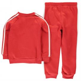 Tepláky adidas Manchester United FC Jogger Suit Infants Red