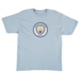 Tričko Source Lab Manchester City Football Club Tshirt Junior Boys Sky