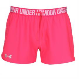 Under Armour Play Up Shorts Ladies Grey/Pink