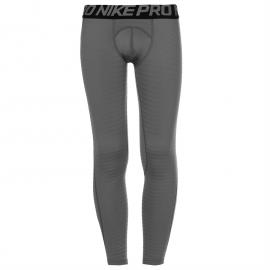 Nike Pro Warm Tight Junior Boys Grey