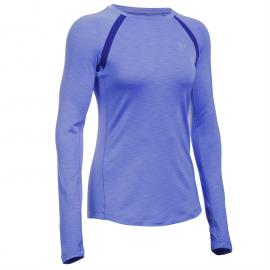 Under Armour ColdGear Armour Base Layer Ladies Purple