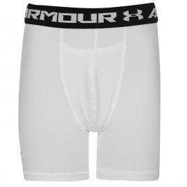Under Armour Mid Shorts Boys White