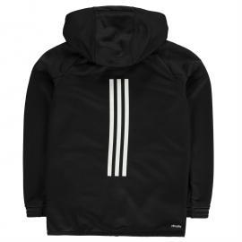 Mikina adidas Ace Full Zip Hoody Junior Boys Black/White