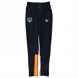 Tepláky Umbro Republic of Ireland Training Pants Child Boys Navy/Green