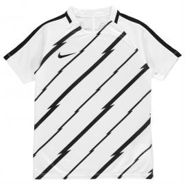 Tričko Nike GX Squad Top Junior Boys White/Black