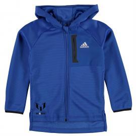 Mikina adidas Messi Full Zip Hoody Junior Boys Blue/White