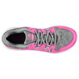 Karrimor Duma Junior Girls Running Shoes Navy/Purple