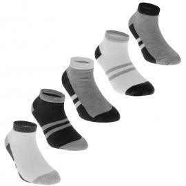 Ponožky Crafted B5PK GreyLinerChd72 Grey Marl
