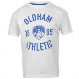 Tričko Team Crew T Shirt Infants Blue