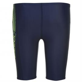 Plavky Speedo S Logo Swimming Jammers Junior Boys Navy/Green