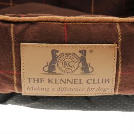 Scruffs Kennel Club Donut Pet Bed Brown