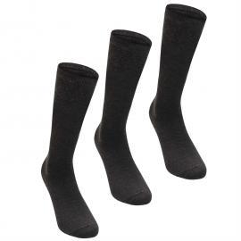 Heatons YG 3pk Knee H Sk Chd64 Grey