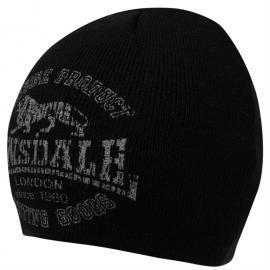 Lonsdale Barbon 2 Hat Junior Boys Black