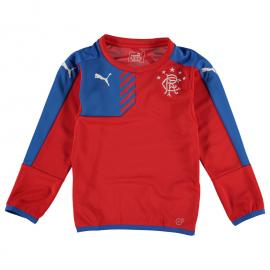 Mikina Puma Rangers Training Sweater Junior Boys Red/Blue