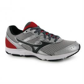Boty Mizuno Spark Running Shoes Junior Boys Silver/Blk/Red