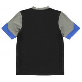 Tričko NUFC United FC Poly T Shirt Infant Boys Black/Grey