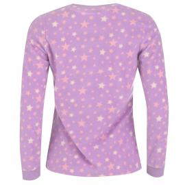 Pyžama Rock and Rags Printed Fleece Pyjamas Purple
