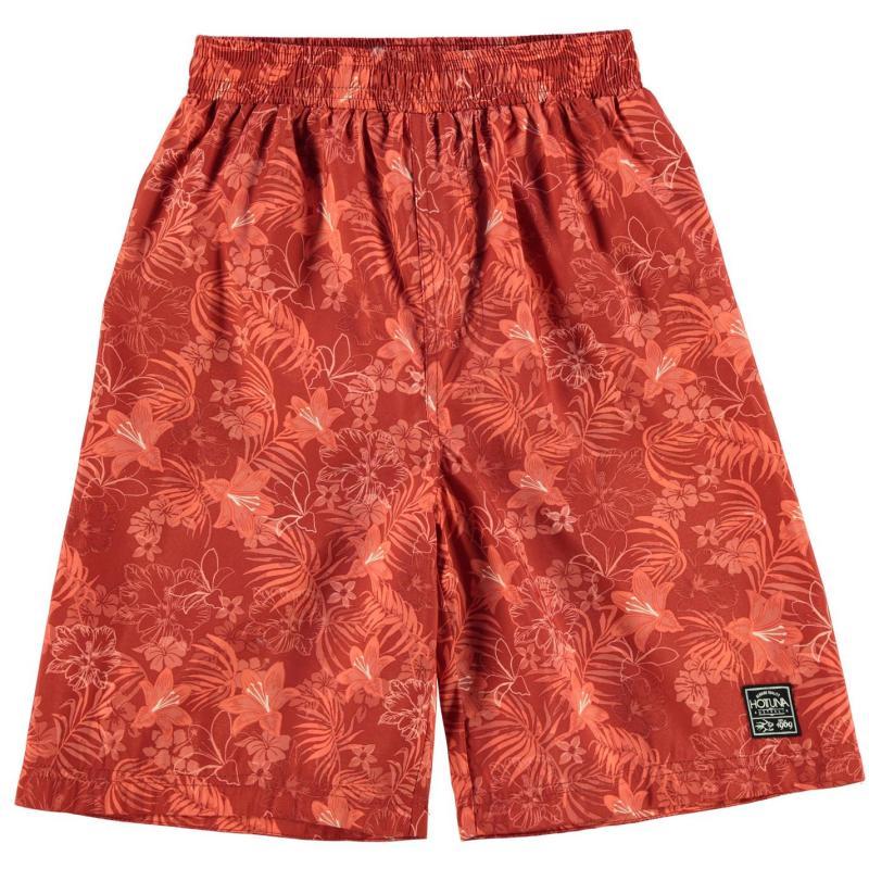 Kraťasy Hot Tuna Tuna Aloha Short Jn73 Red