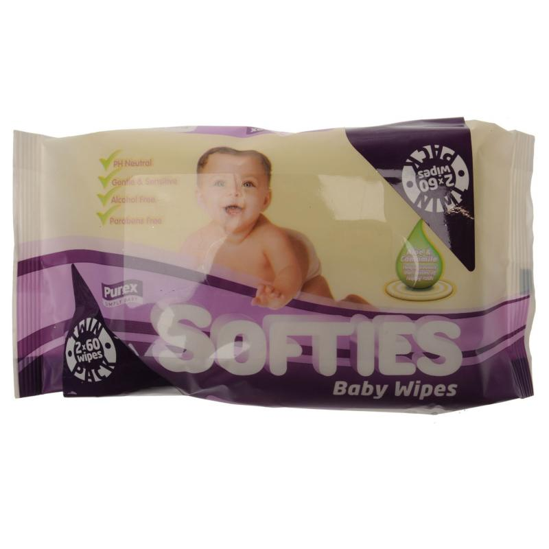 Mega Value Purex Baby Wipes Twin Pack -