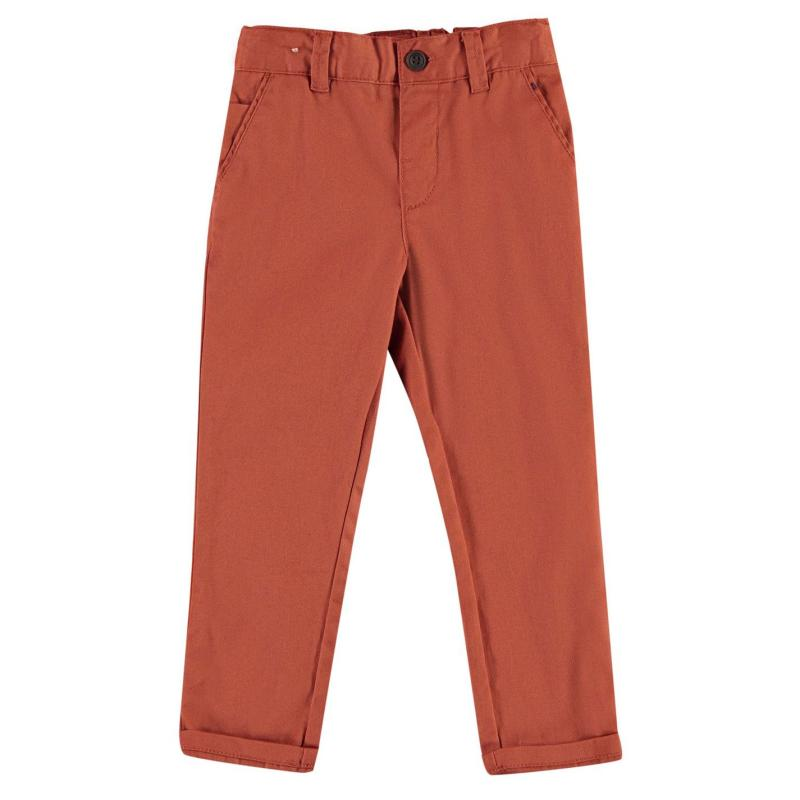 Kalhoty Crafted Coloured Chinos Rust