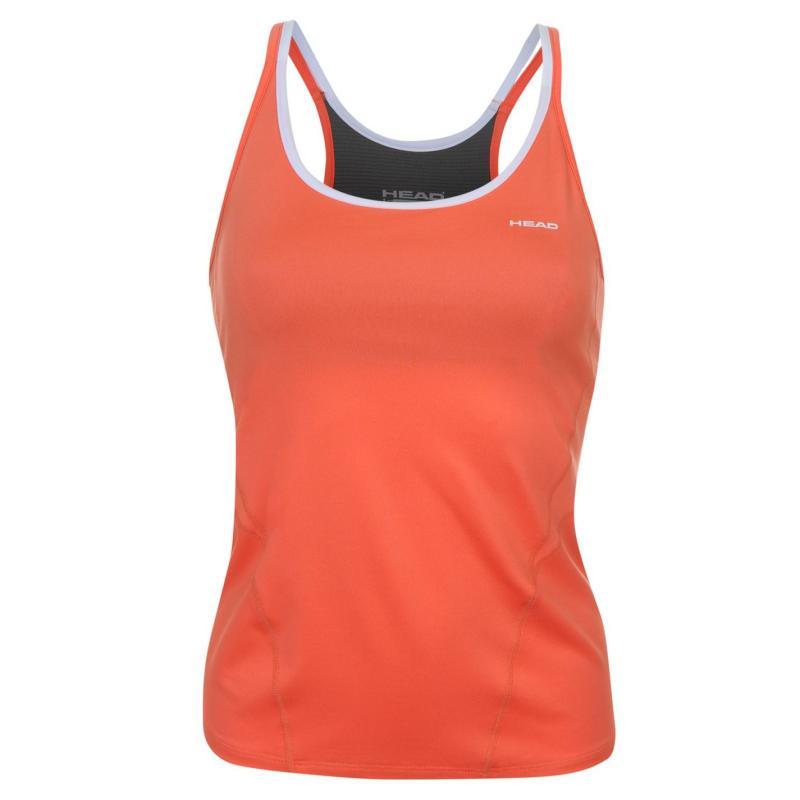 HEAD Performance Tank Top Ladies Orange