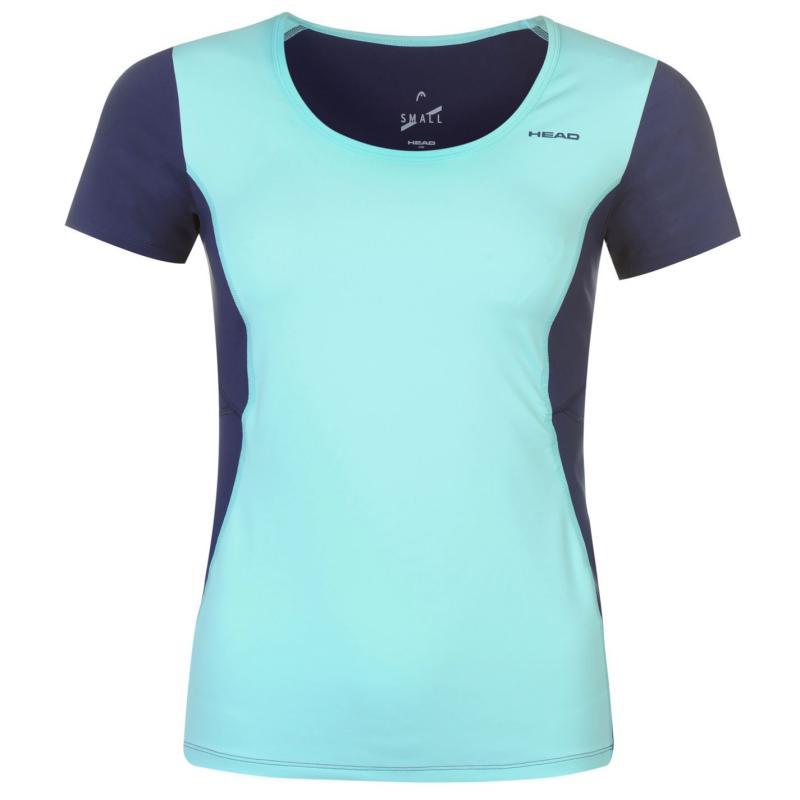 HEAD Performance W T Shirt Ladies Blue/Blue