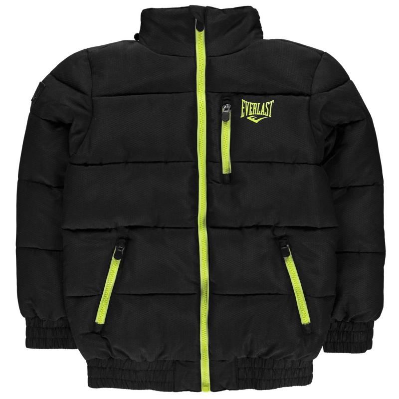 Bunda Everlast Bubble Jacket Junior Boys Black