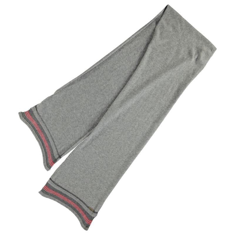 Diesel K Ambu Stripe Scarf Grey