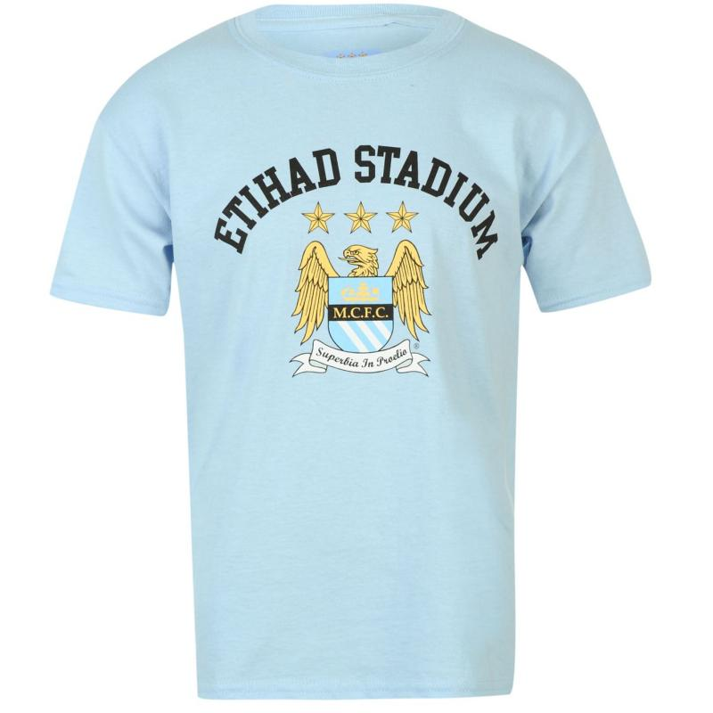 Tričko Source Lab Manchester City Football Club Core Infants Tee...