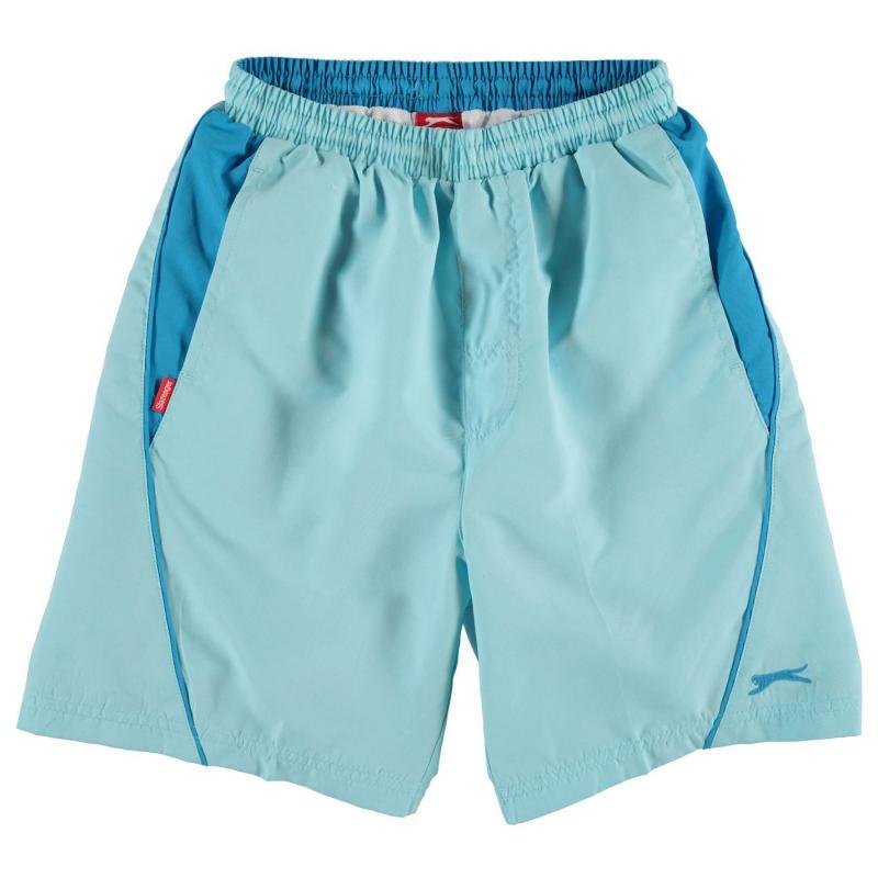 Kraťasy Slazenger Woven Shorts Junior Boys Light Blue