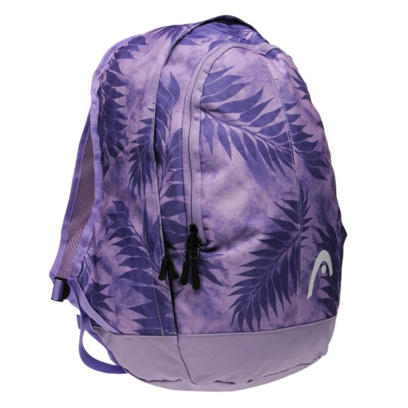 HEAD Tropical Backpack Lilac Print